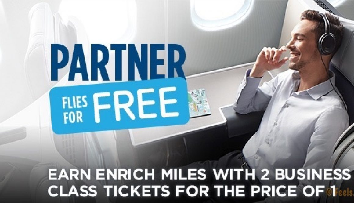 Treat yourself to a Malaysia Airlines Business Class flight and bring a companion along – all for the price of one