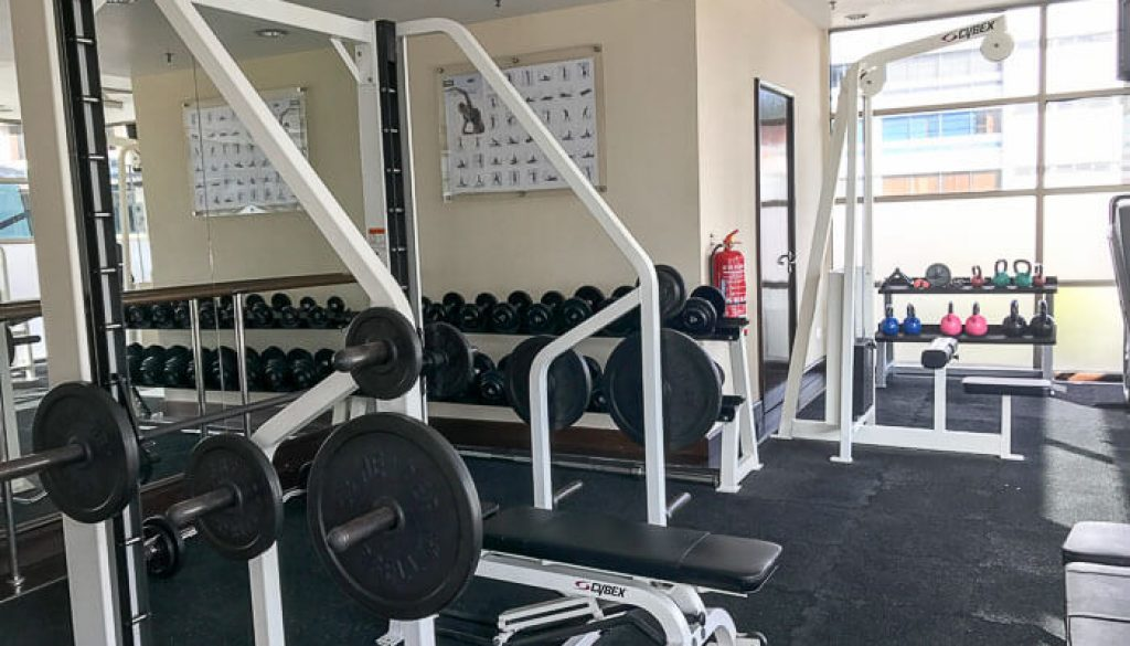 Hyatt Regency Kinabalu, Regency Suite Gym