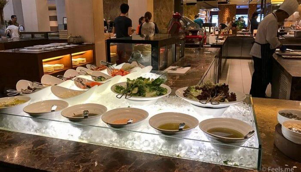 Hyatt Regency Kinabalu Breakfast Salad Bar