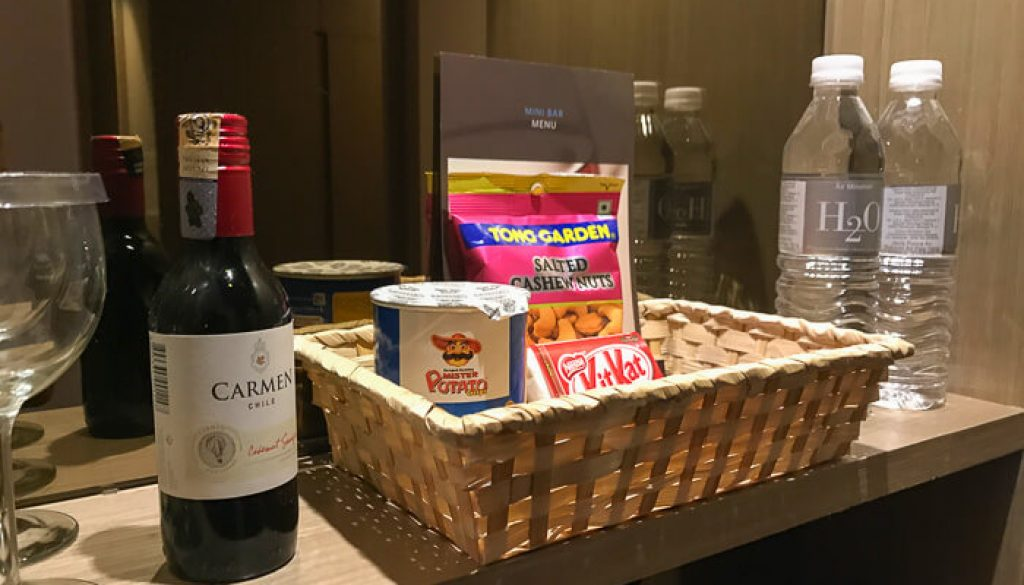 Hilton Petaling Jaya KL Not complimentary snacks